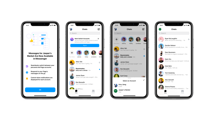 Businesses on Facebook can now respond to customers in Messenger – TechCrunch