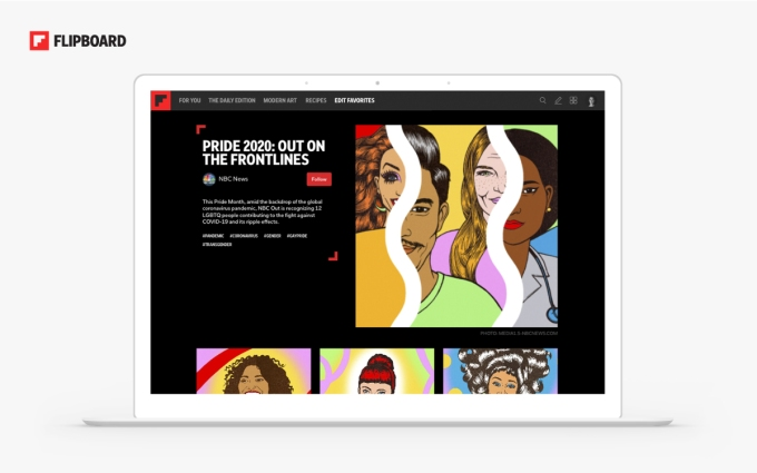 Flipboard Storyboards