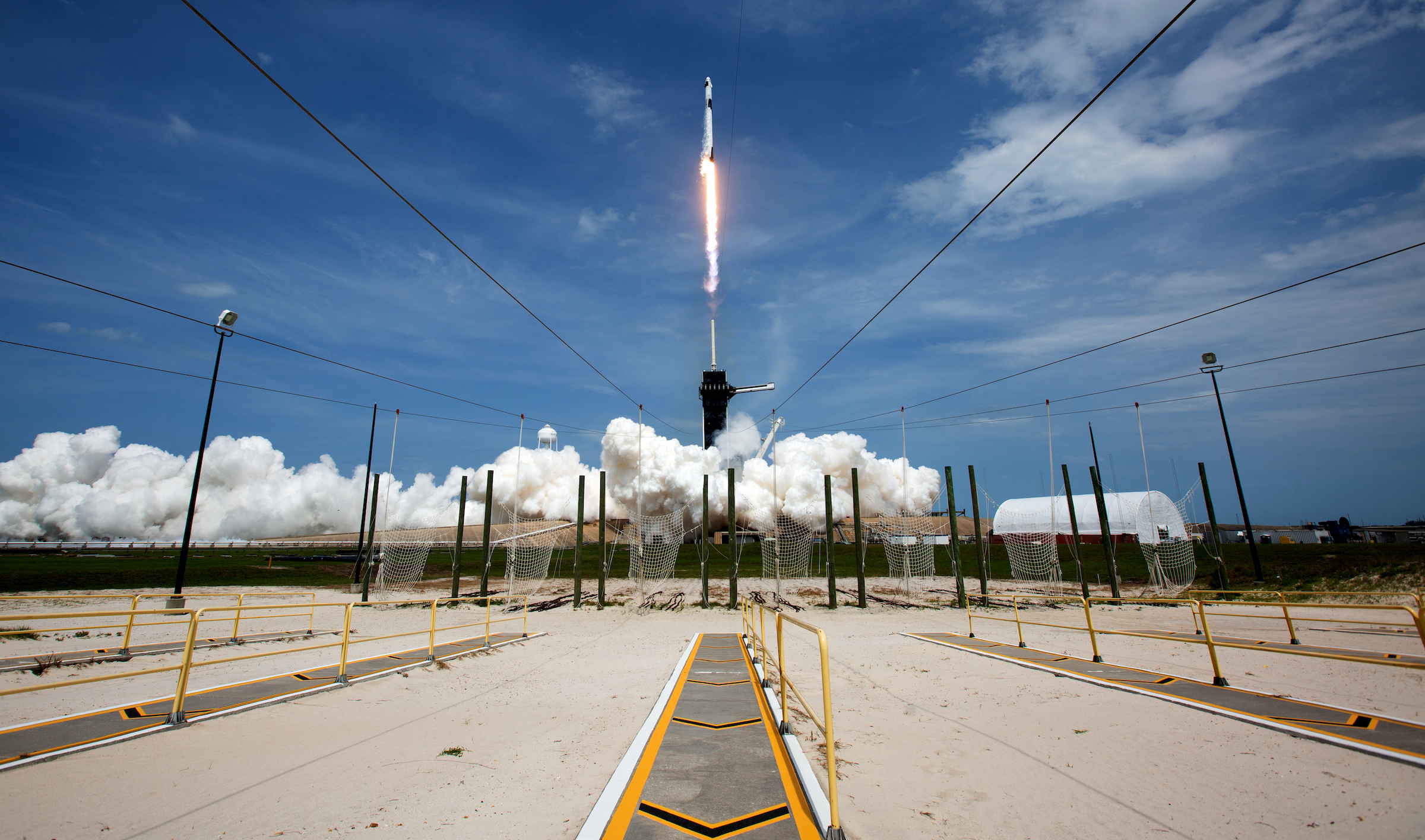 Indian Space Research Organisation congratulates NASA, SpaceX for historic launch