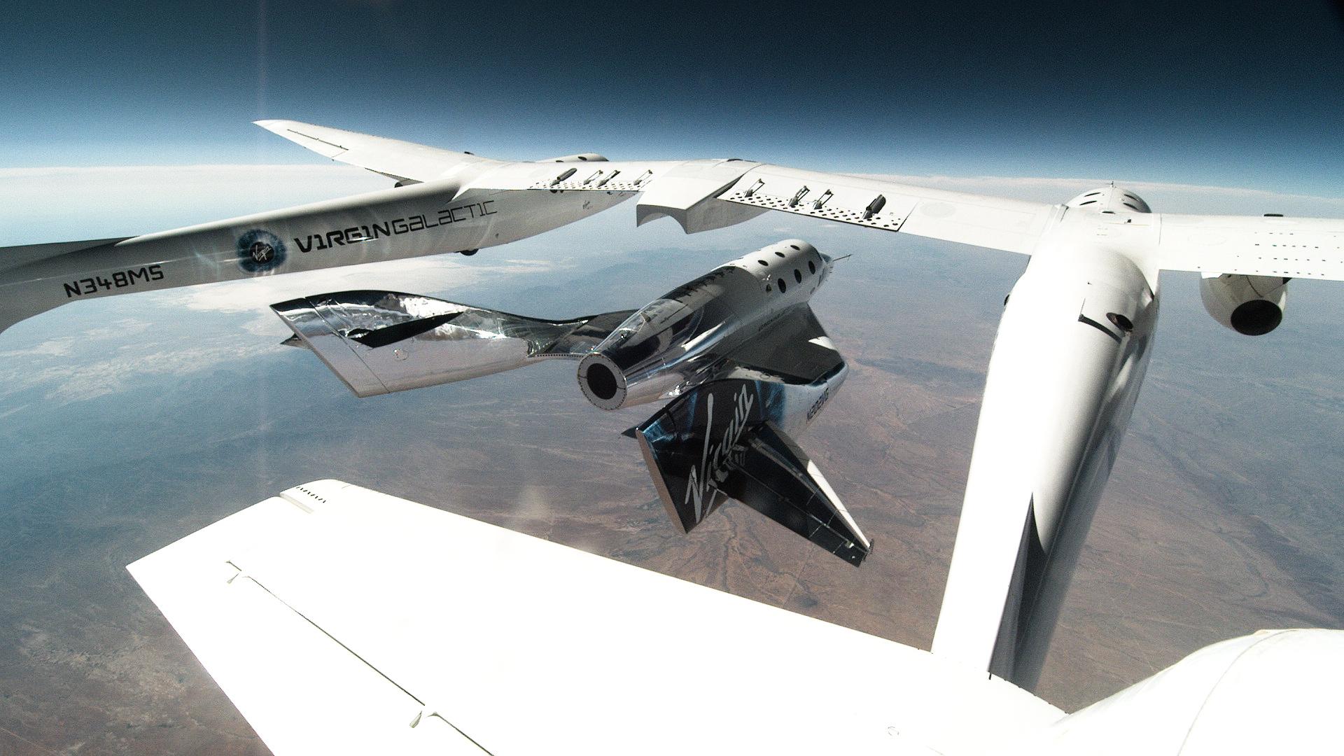 Virgin Galactic ramps up glide testing at Spaceport America