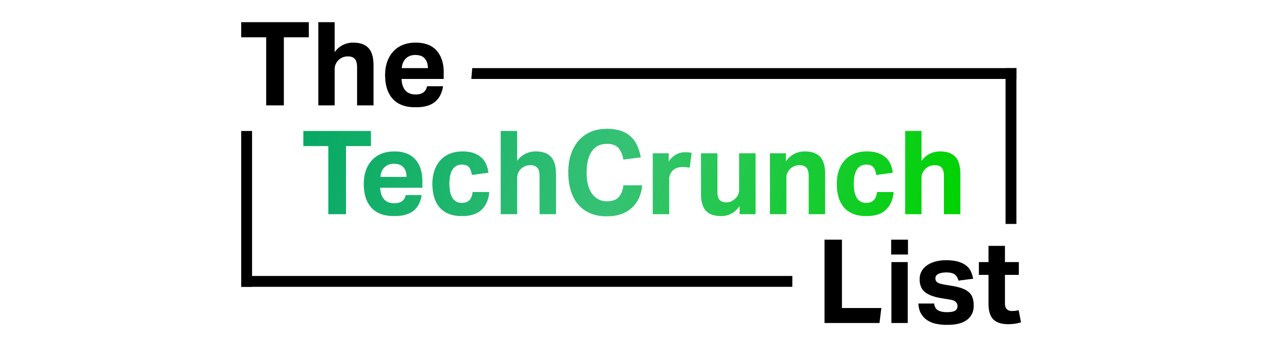 The TechCrunch List Logo