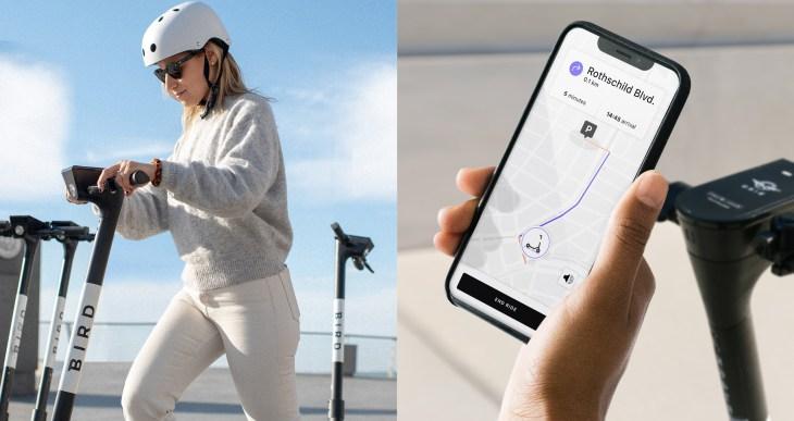 Bird lanza una aplicación de navegación para ayudar a los pasajeros a mantenerse en el carril correcto 1