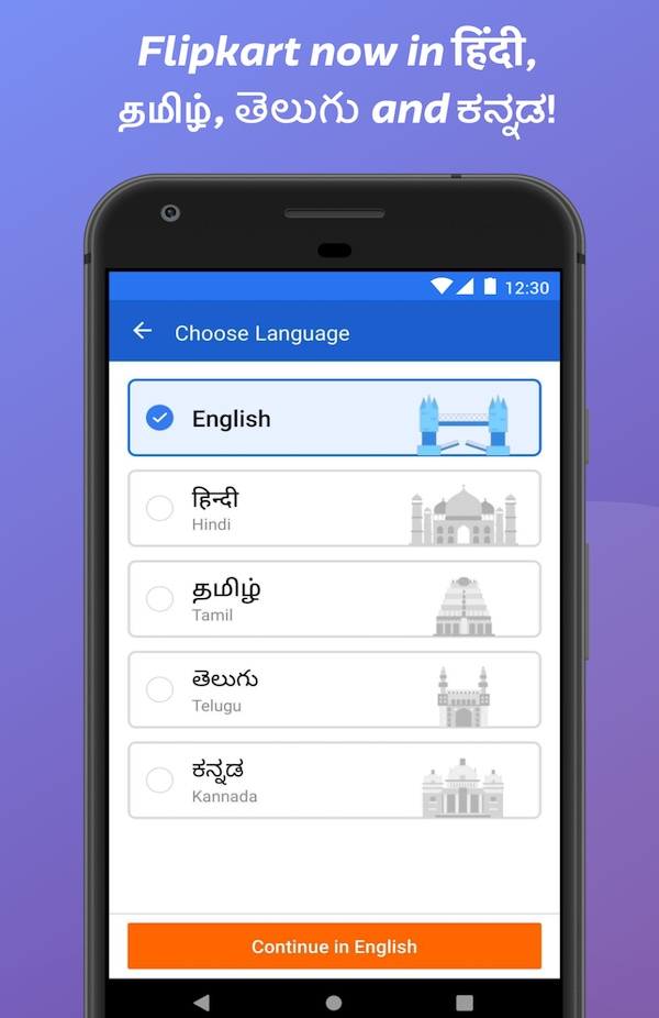 Walmart's Flipkart makes local languages push to win small Indian cities and towns