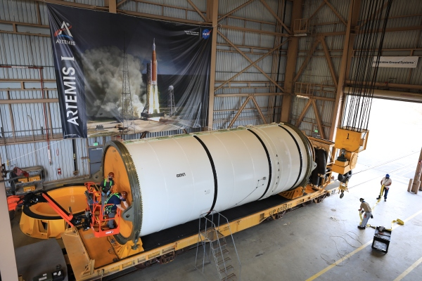 NASA units path for as much as six extra Artemis Moon exploration missions with SLS booster order thumbnail