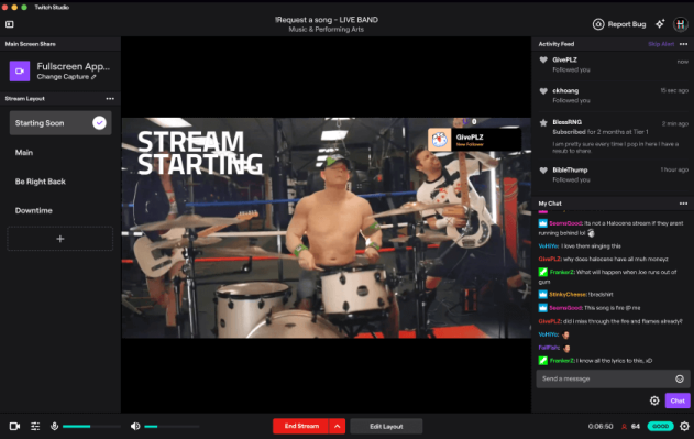 Twitch launches its own free broadcasting software for Mac users thumbnail