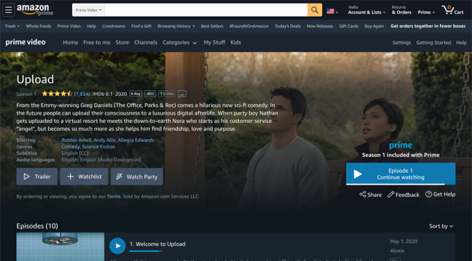Amazon Prime Video introduces 'Watch Party,' a social co-viewing experience included with Prime 1