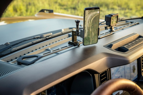 Forget the Bronco's off-road chops, look at this gadget mounting bar – TechCrunch