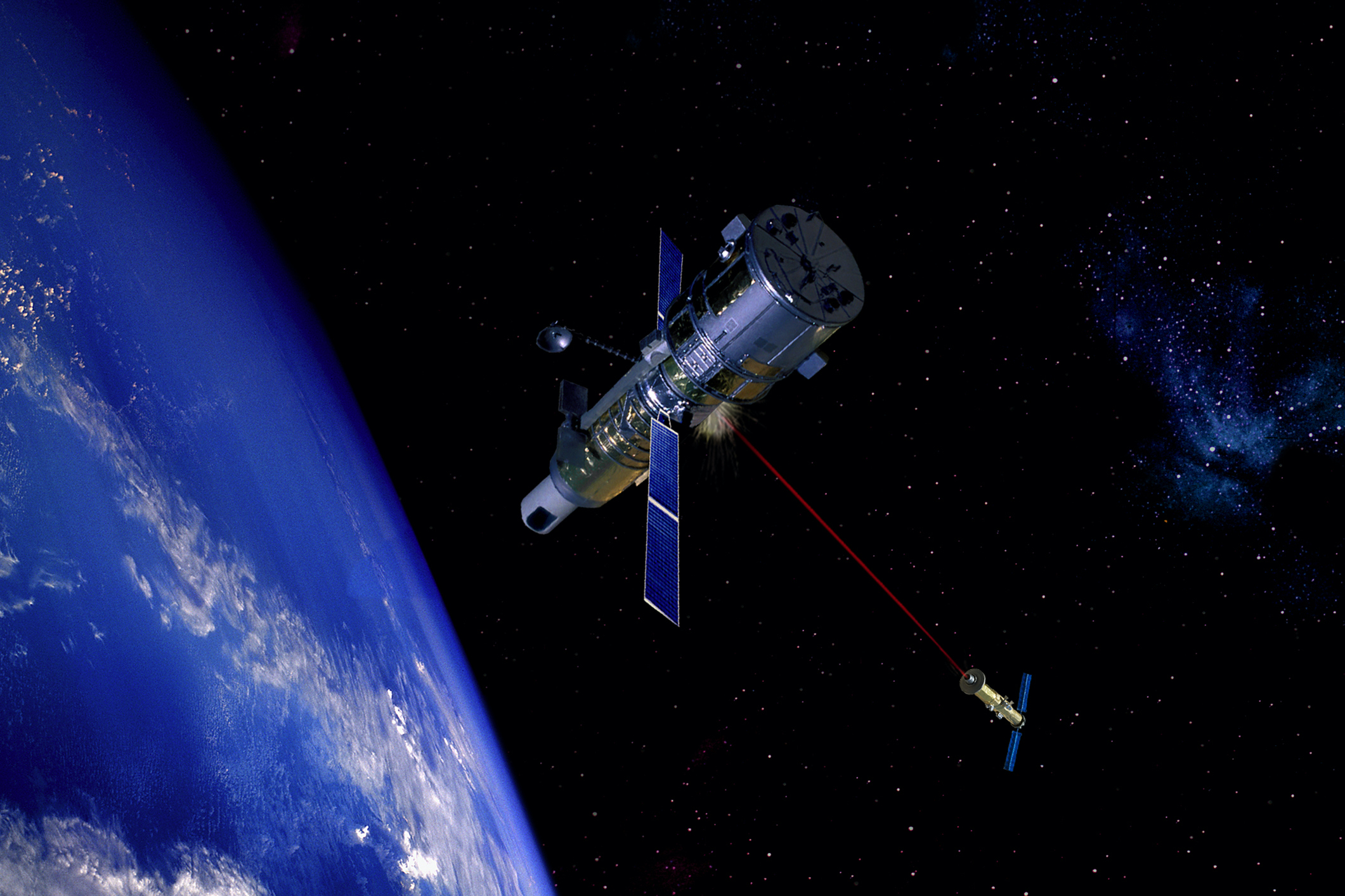 Russian Federation tested an anti-satellite weapon in space