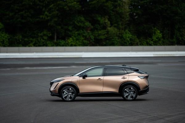 Nissan stakes its EV future on the 300-mile range Ariya crossover