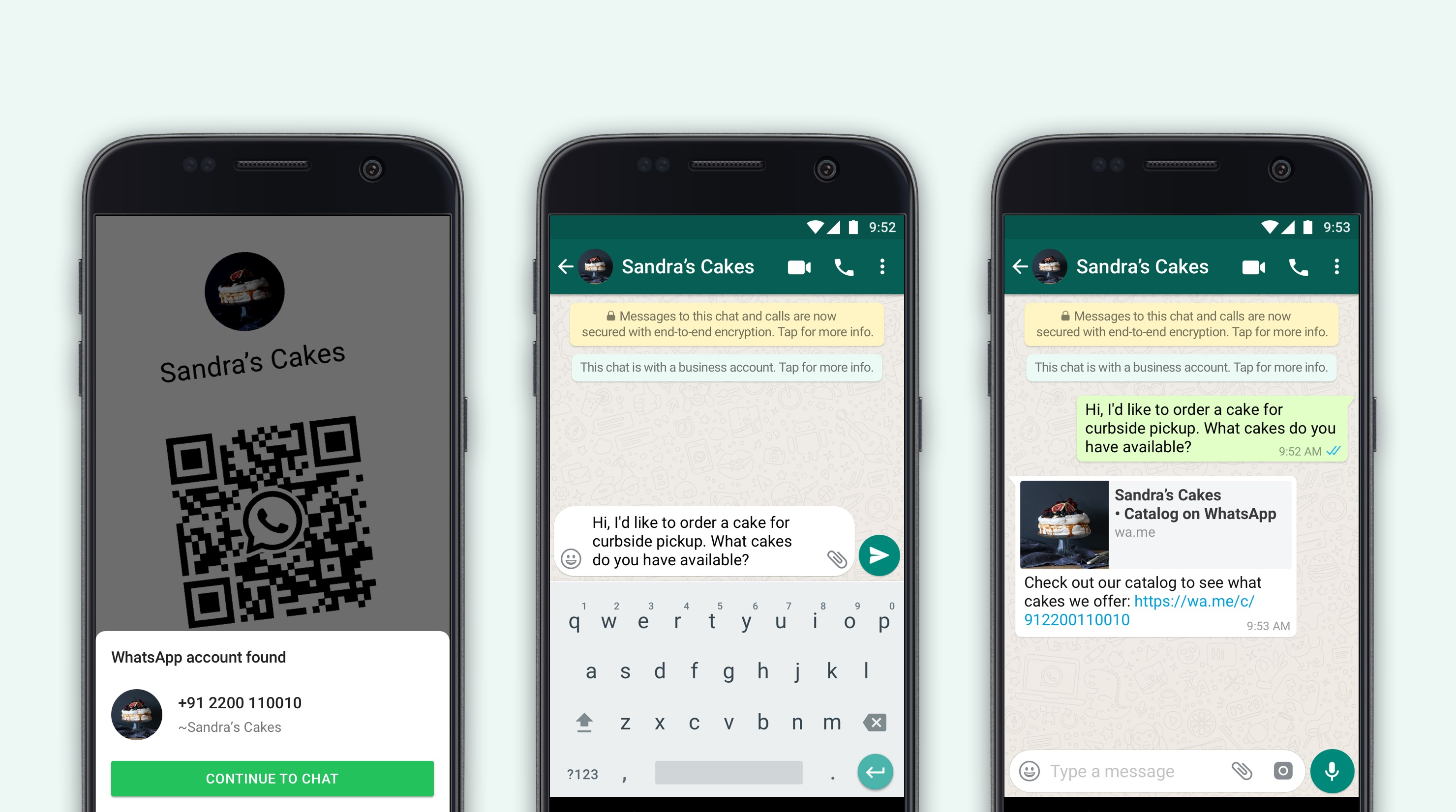 Whatsapp Business Now With 50m Maus Adds Qr Codes And Catalog Sharing Techcrunch