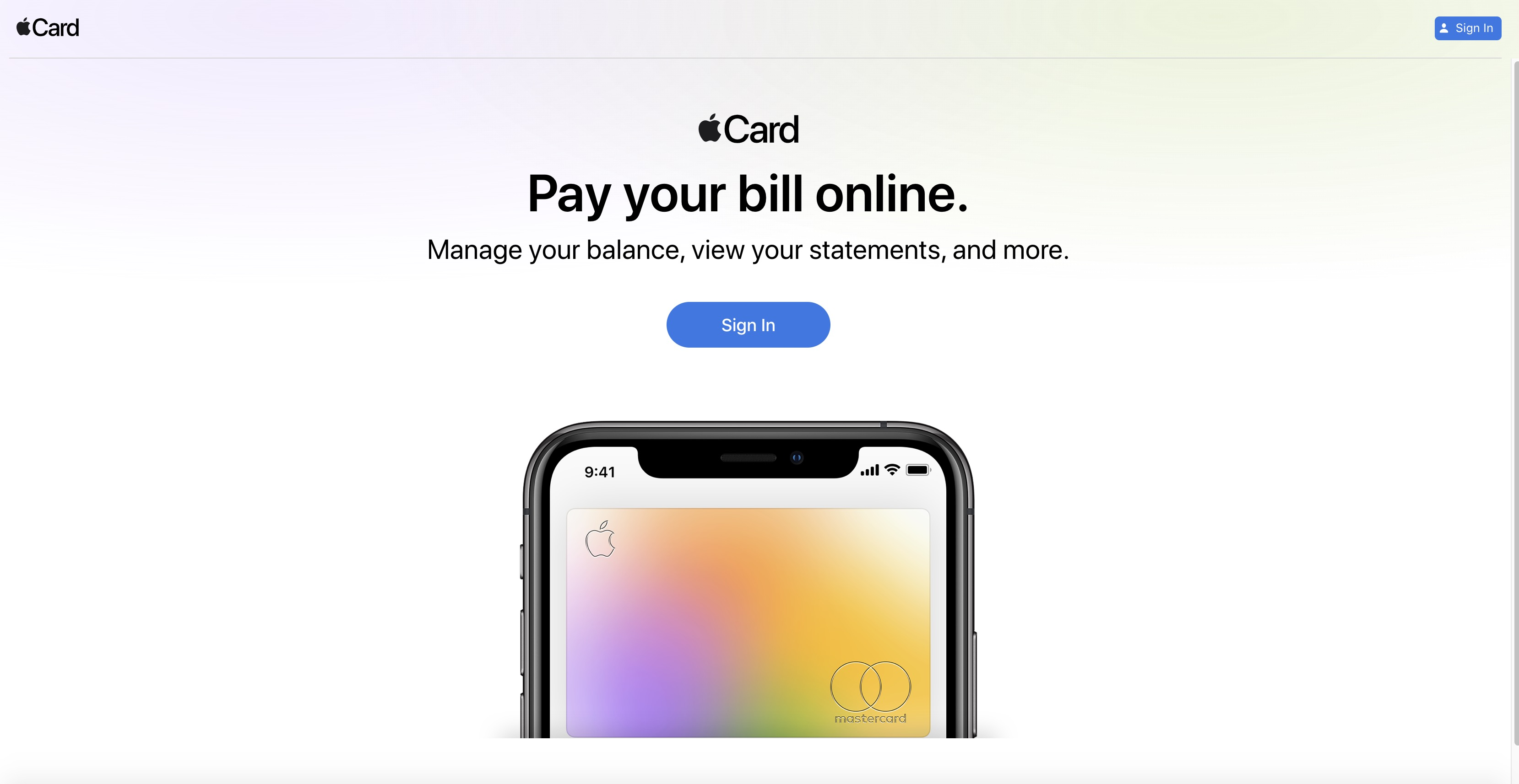 Pay Your Apple Card Bill Online With the New Web Portal