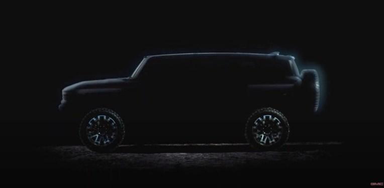 EV Hummer станет электрическим ответом GM на Ford Bronco и Tesla Cybertruck