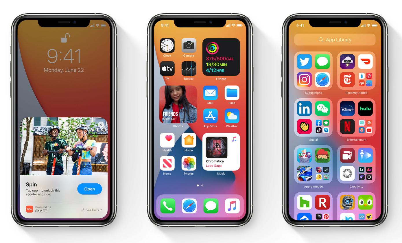 Apple iOS 14.2 iPhone atualização