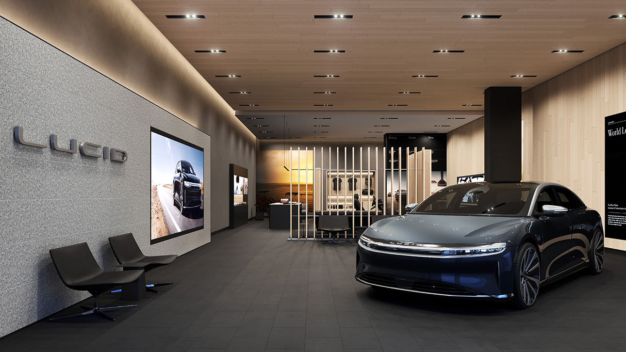 Lucid to open 20 customer locations to help sell and service its electric vehicle   TechCrunch
