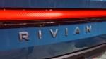 Rivian electric truck CES