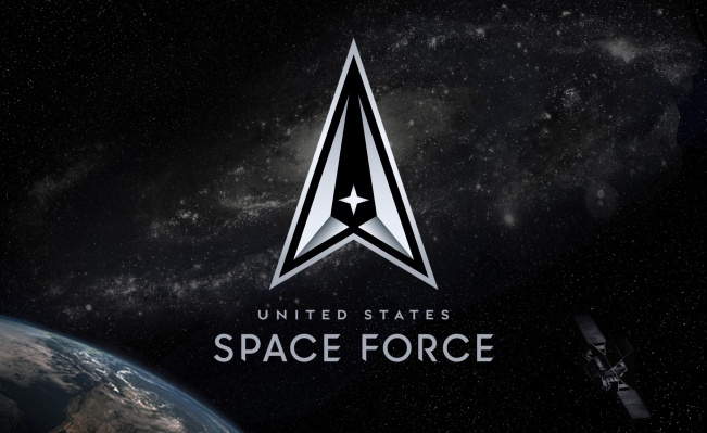 Space Force debuts official logo and motto, both reminding you that it's 'always above' thumbnail