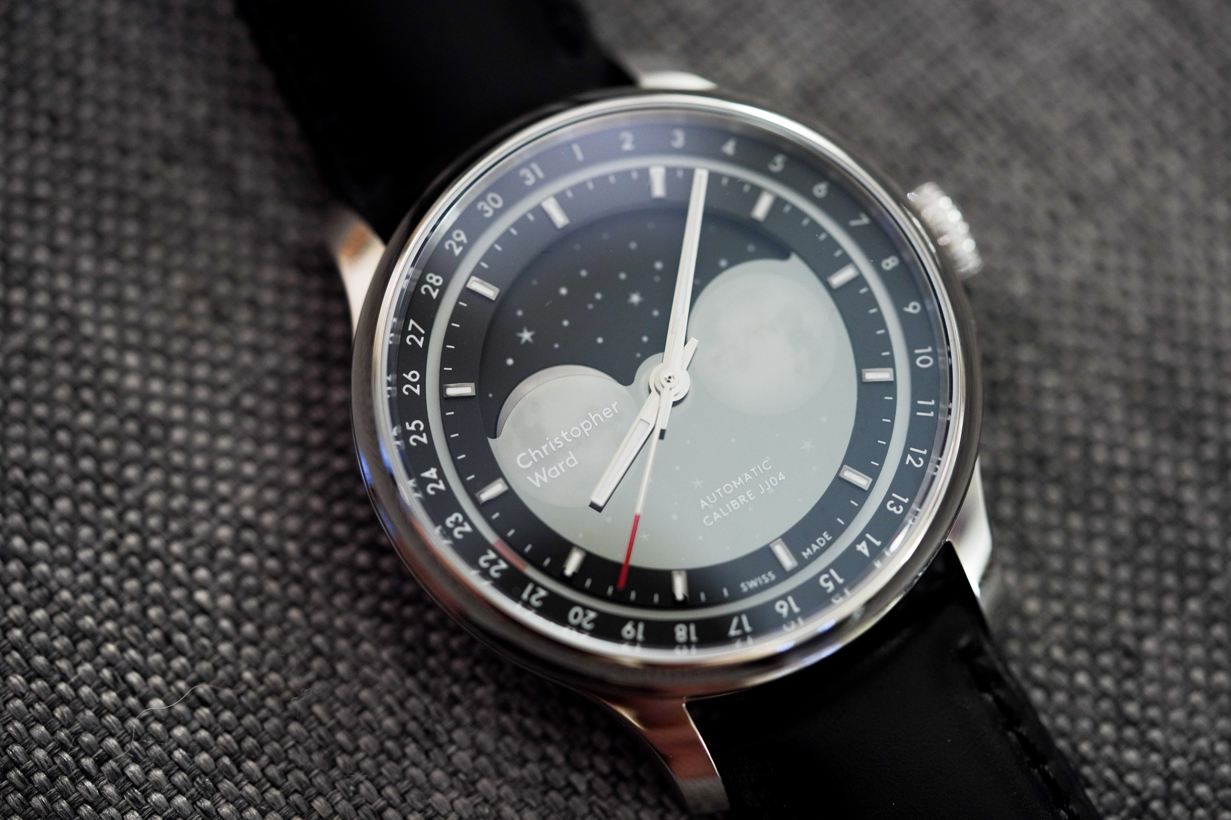Christopher Ward's C1 Moonglow moonphase automatic watch is perfect for  space lovers   TechCrunch