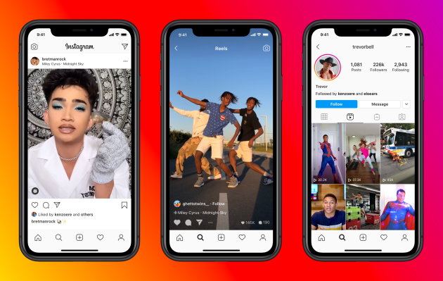 Instagram Reels launches globally in over 50 countries, including US – TechCrunch