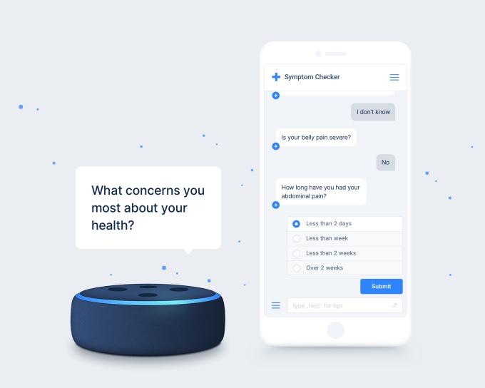 Visuals Screenshots 03 Symptom Checker Chatbots - Infermedica scores $10M Series A for its 'AI-driven' diagnosis and triage platform