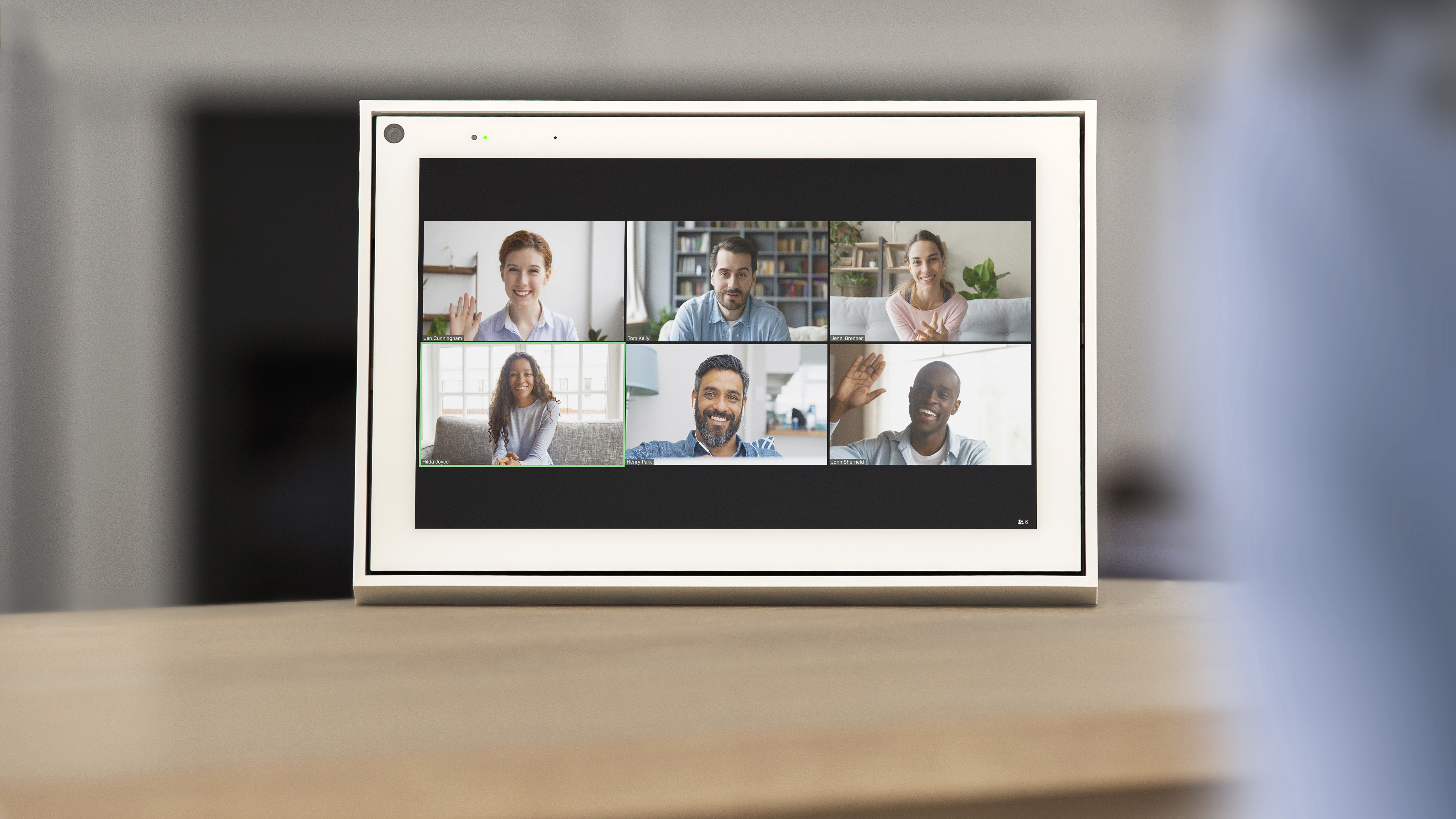 Zoom video call arriving on Amazon Echo, Google Nest, Facebook Portal devices
