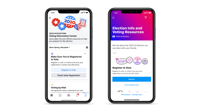 Bracing for election day, Facebook rolls out voting resources to US users