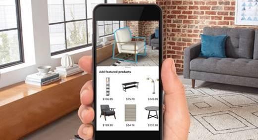 Приложение Amazon Room Decorator