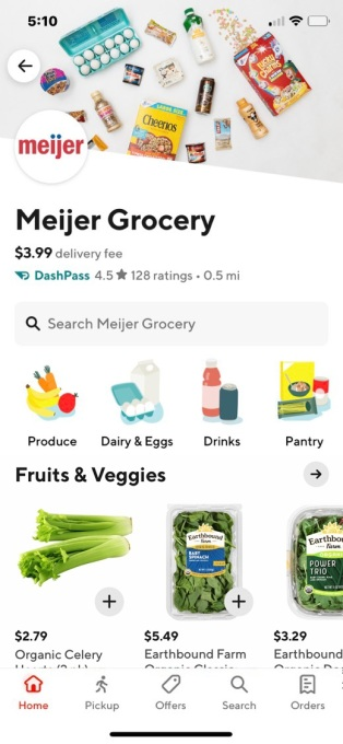 Meijer DoorDash