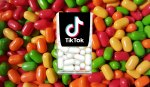TikTok logo on Tic Tacs box