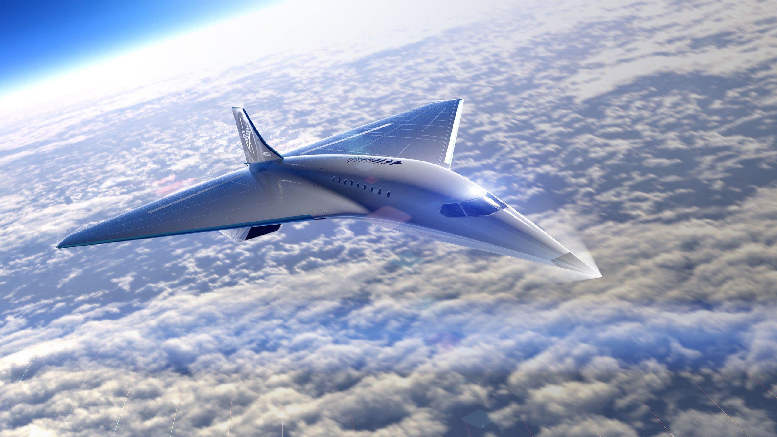 Virgin Galactic's supersonic jet capable of speeds over Mach 3
