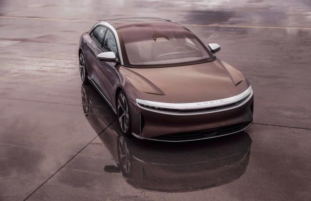 Lucid reveals the price of its base Air sedan — $77,400 minus $7,500 US tax credit