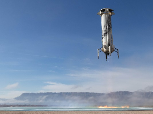 Blue Origin targets this Thursday for New Shepard reusable rocket launch with NASA landing system test - TechCrunch