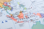 """Map of Southeast Asia from """"World Reference Atlas"""""""