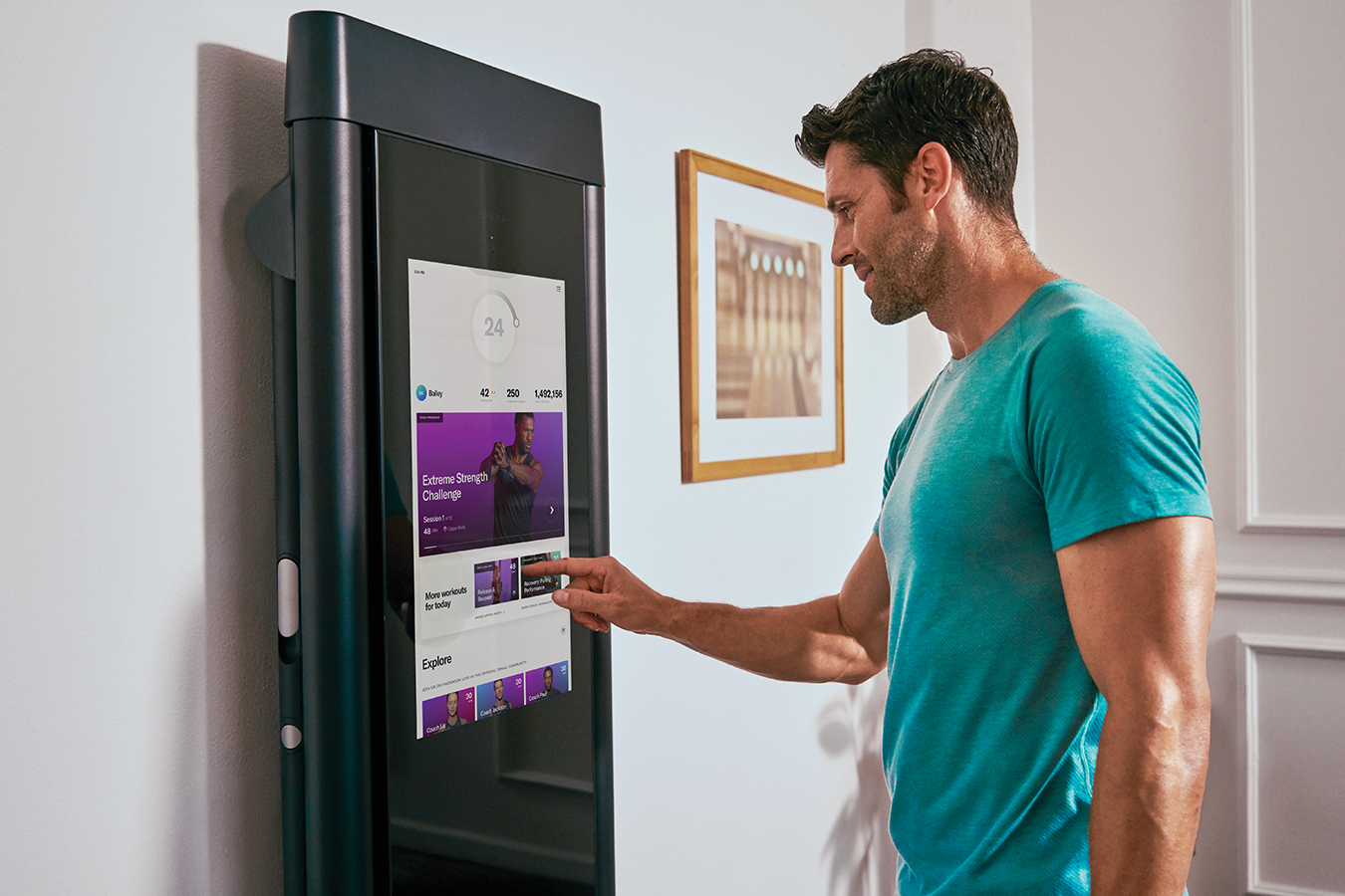 Connected fitness startup Tonal raises another $110 million