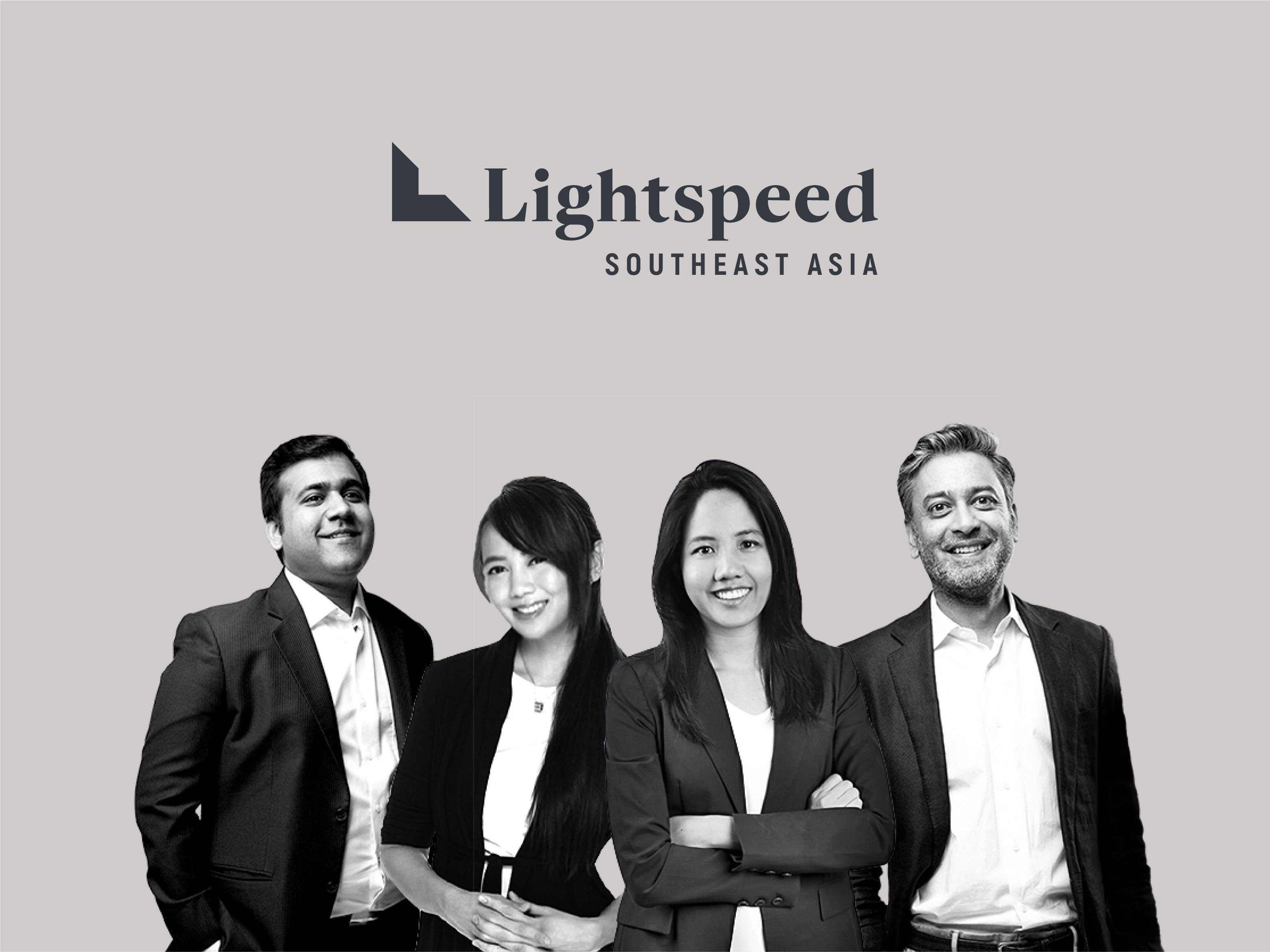A group photo of Lightspeed Venture Capital's Southeast Asia team