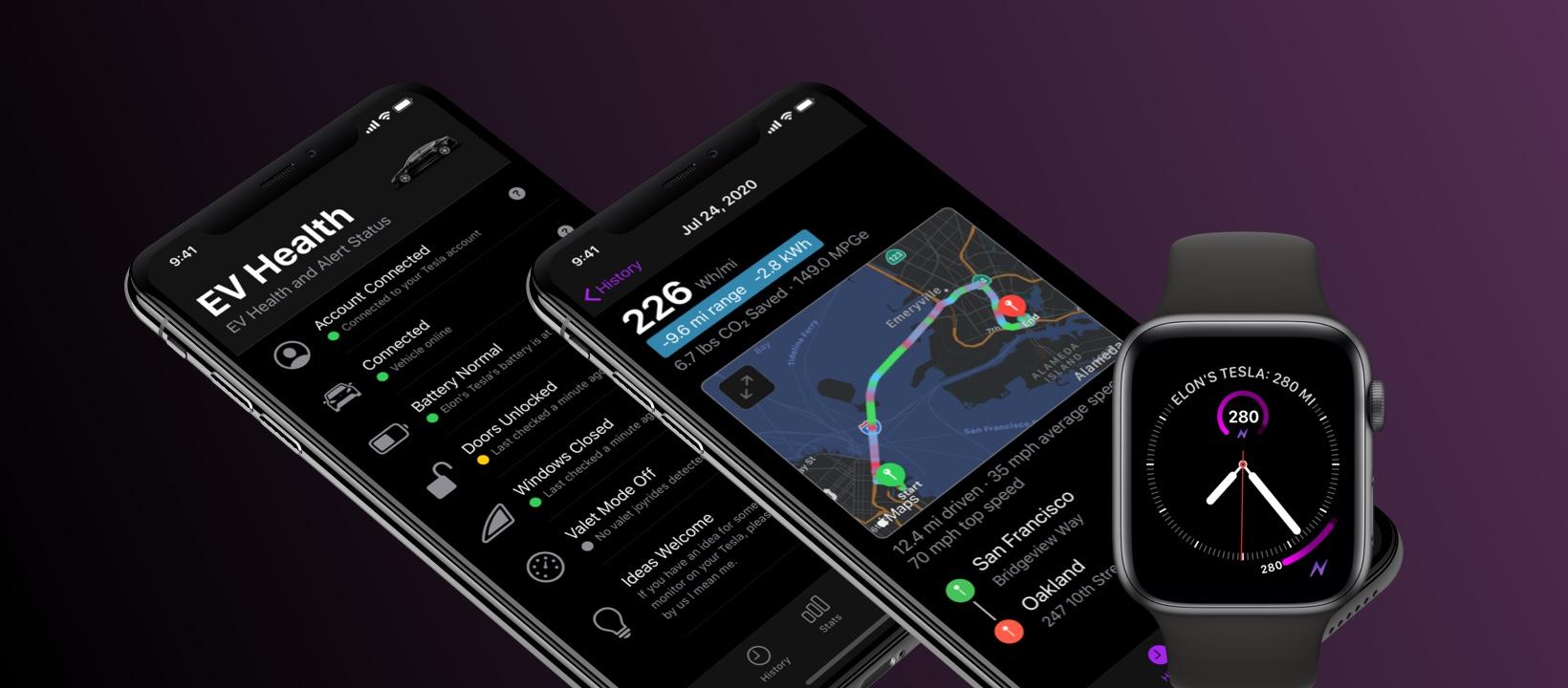 Nikola app - EVs