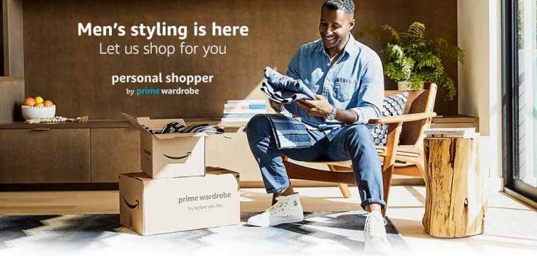 Amazon launches a $4.99-per-month 'personal shopper' service for men's fashion thumbnail