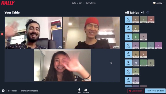 Rally wants to make big group video calls more fun, more real and maybe less exhausting thumbnail