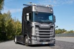 TuSimple Traton self-driving trucks