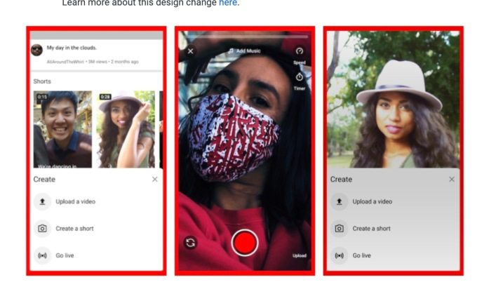 YouTube launches its TikTok rival, YouTube Shorts, initially in India |  TechCrunch