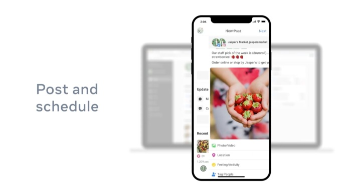 Facebook launches Facebook Business Suite, an app for managing business  accounts across Facebook, Instagram and Messenger | TechCrunch