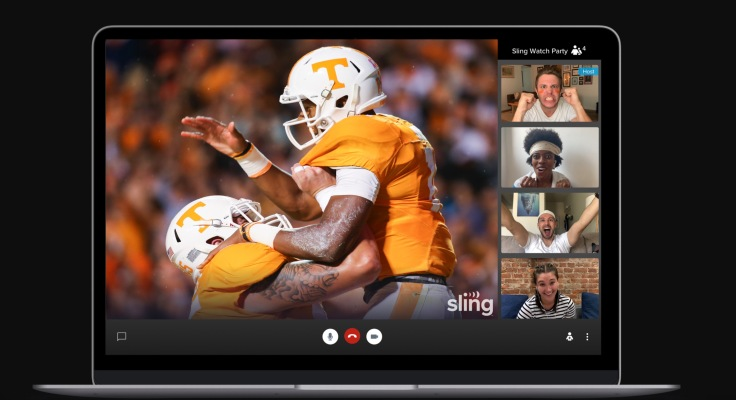 Sling TV launches a co-watching feature for live TV, Sling Watch Party thumbnail