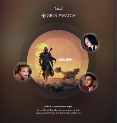 Disney+ adds a co-watching feature called GroupWatch - techcrunch