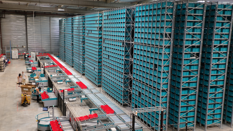 Exotec raises  million for its warehouse robots