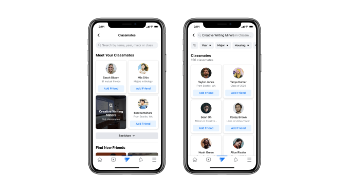 Still Directory - Facebook returns to its roots with Campus, a college student-only social network