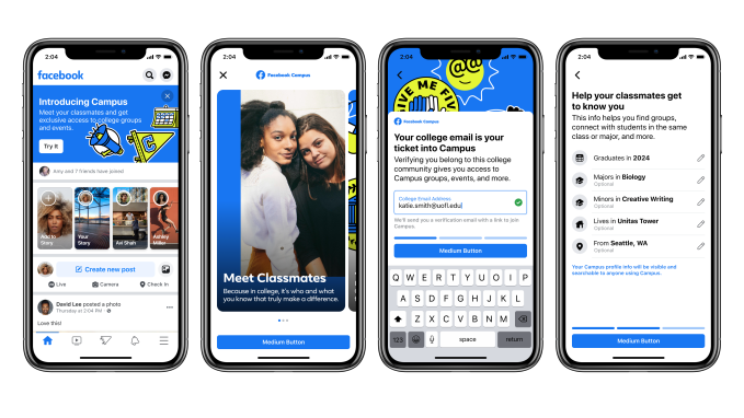 Still Onboarding - Facebook returns to its roots with Campus, a college student-only social network