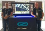Submer founders Pol Valls and Daniel Pope