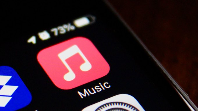 Apple Music icon on iPhone
