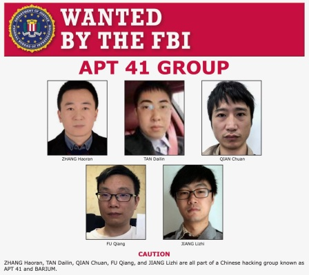 Justice Dept. charges five Chinese hackers over attacks on U.S. companies thumbnail
