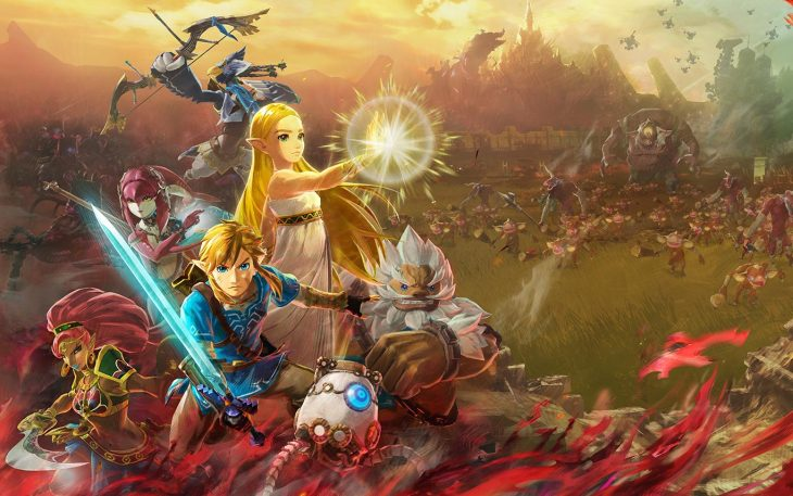 Shred Monsters As Zelda And Others In Breath Of The Wild Prequel Hyrule Warriors Age Of Calamity Techcrunch