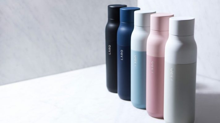 Self-cleaning water bottle company LARQ raises a $10M Series A - techcrunch